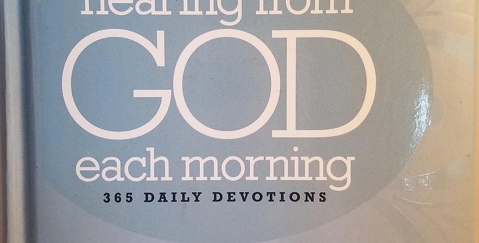 Hearing from God each morning 365 devotions by Joyce Meyer