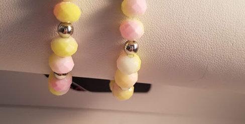 Lemonade Stretchy bracelet-Paparazzi Accessories-I am NOT a consultant