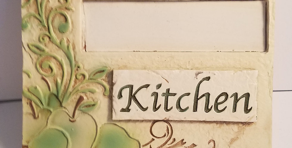 Welcome to the kitchen Sign