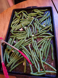 Written in food: Fresh Green Beans