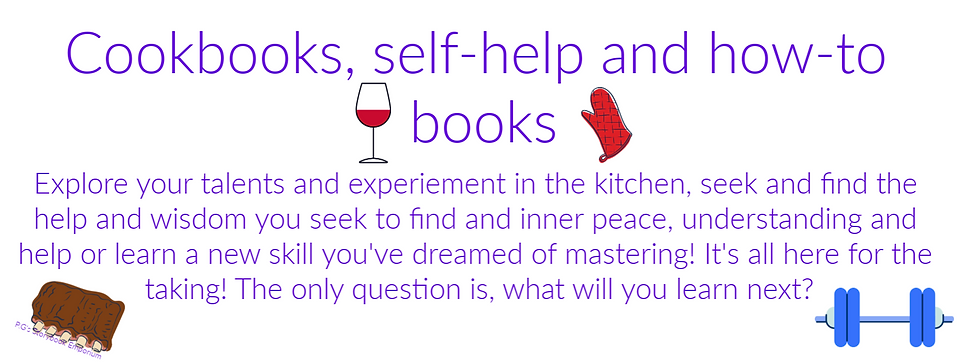 pgse cookbooks self help and to do cover