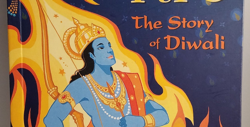 Prince of Fire the Story of Diwali by Jatinder Verma-Barefoot Books