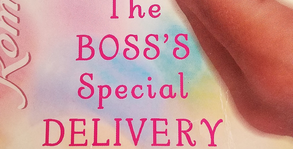 Boss's special Delivery, The by Raye Morgan