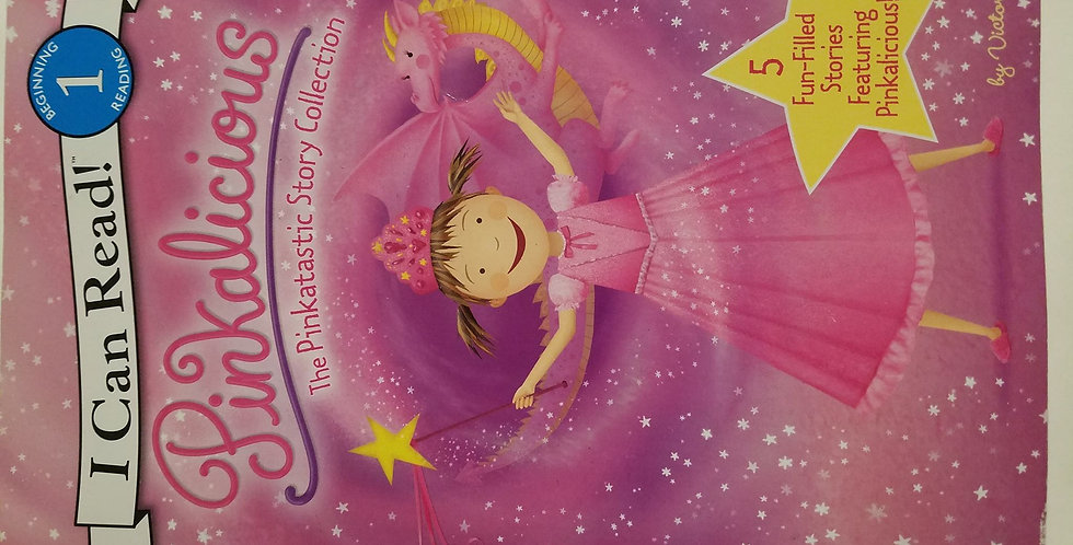 Pinkalicious The Pinkatastic Story Collection (I can read Step 1) by Victoria Ka