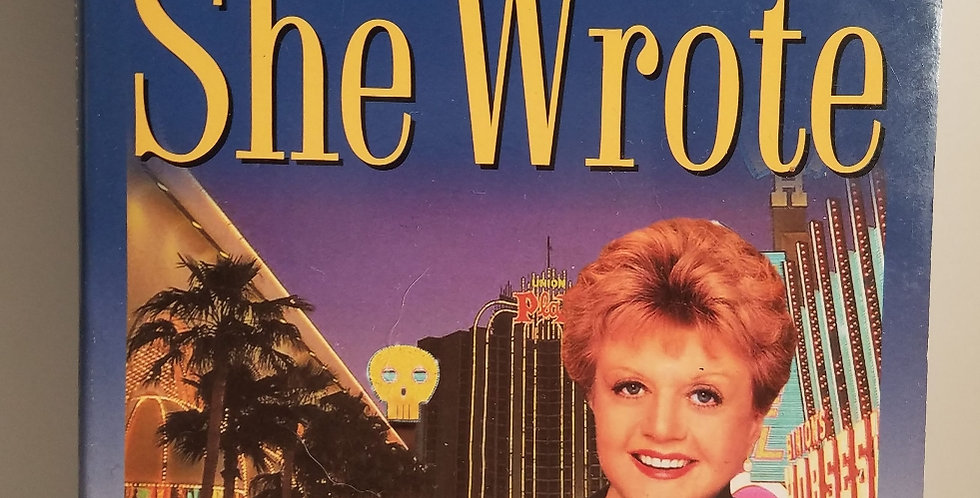 Murder, She Wrote You Bet Your LIfe (#18) & Murder by Jessica Fletcher and Dona