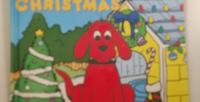 Clifford The Big Red Dog Glow-in-the-Dark Christmas