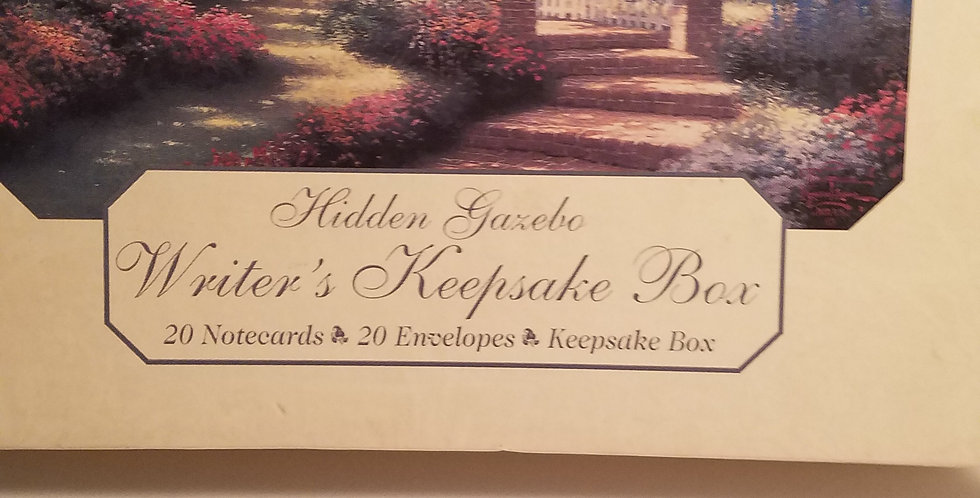 Thomas Kinkade stationary/blank cards