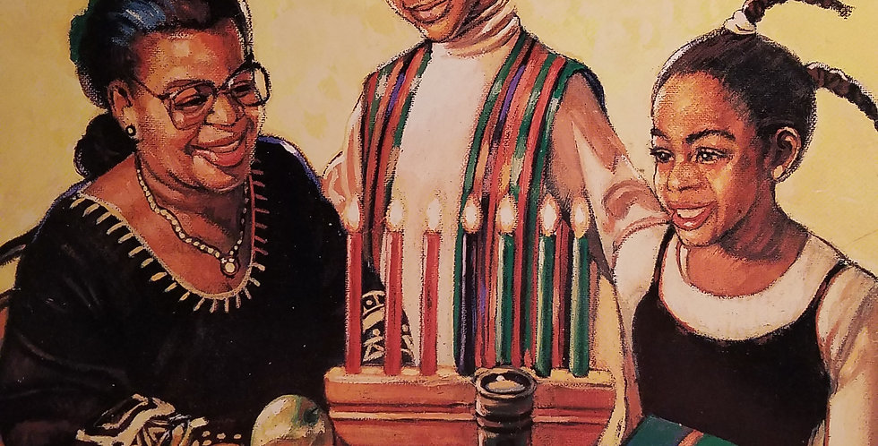 Kwanzaa Miracle, A by Sharon Shavers Gayle