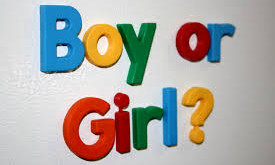 How should I respond when people ask if my child is a boy or a girl?