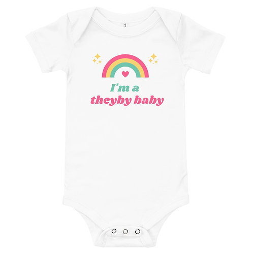 I'm a Theyby baby Onesie