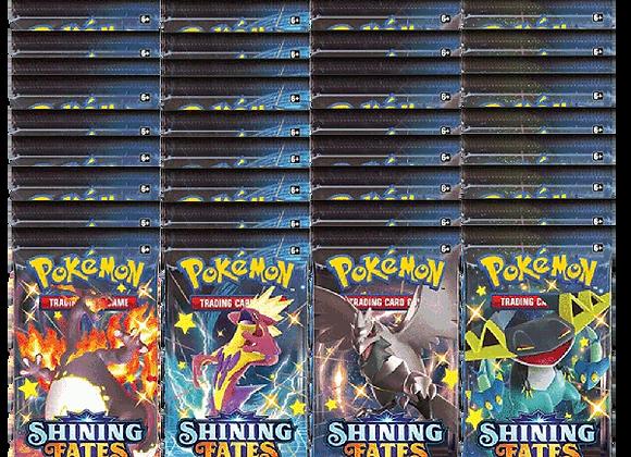 "Pokémon Shining Fates 36 Packs ""Booster Box"" Equivalent"