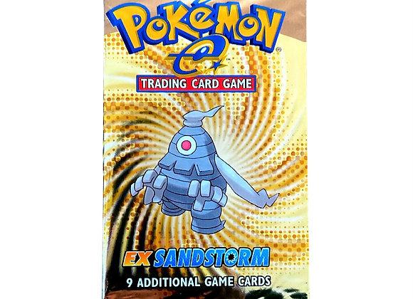 Pokémon EX Sandstorm vintage Booster Pack