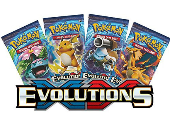 XY Evolutions single booster pack