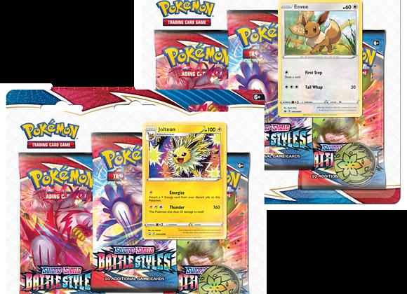 Pokémon Battle Styles 3 pack Blister