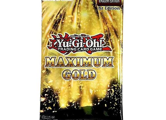 Yu-Gi-Oh! Maximum Gold Single Booster pack