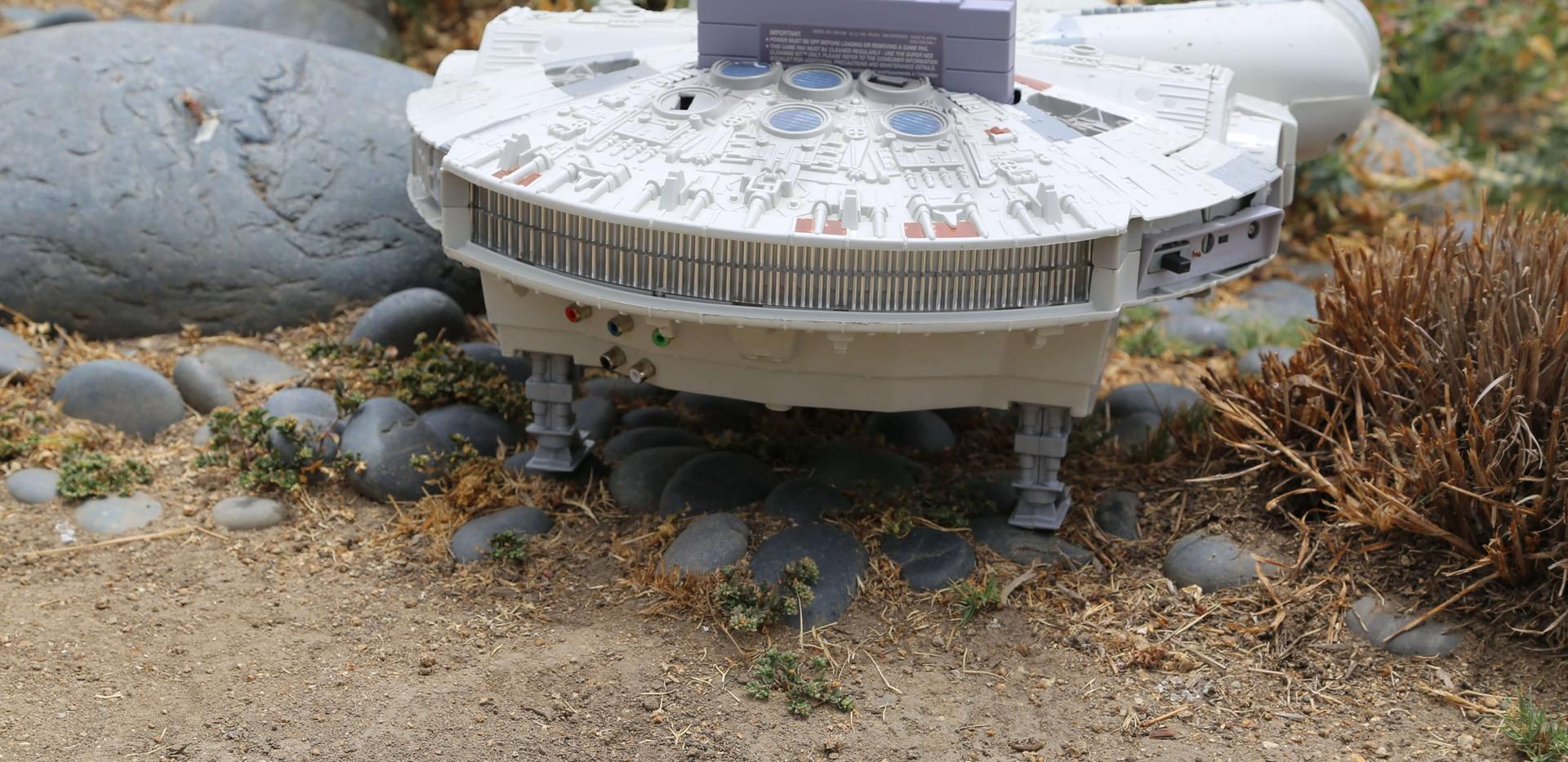 Millenium Falcon SNES - 13.JPG