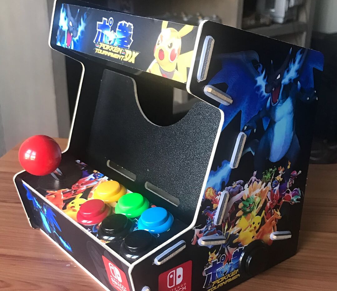 Nintendo Switch Arcade Cabinet-2.JPG