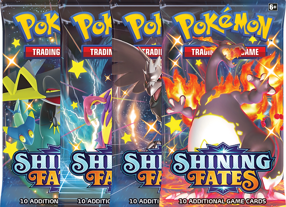 Pokémon Shining Fates single Booster pack