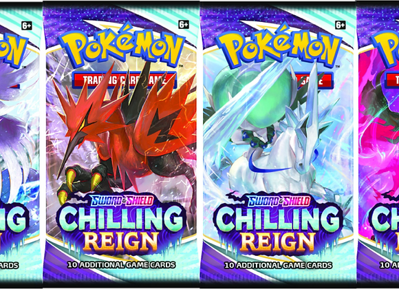 Pokémon Chilling Reign Single Booster Pack