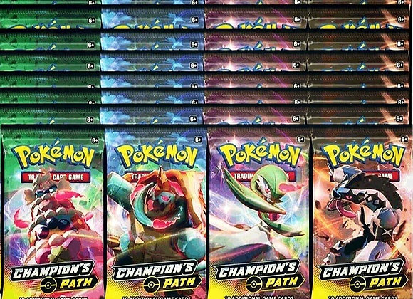 Pokémon Champion's Path single Booster pack