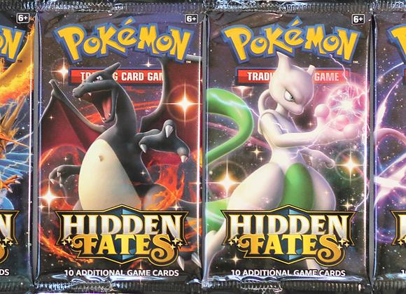 Pokémon Hidden Fates single Booster pack