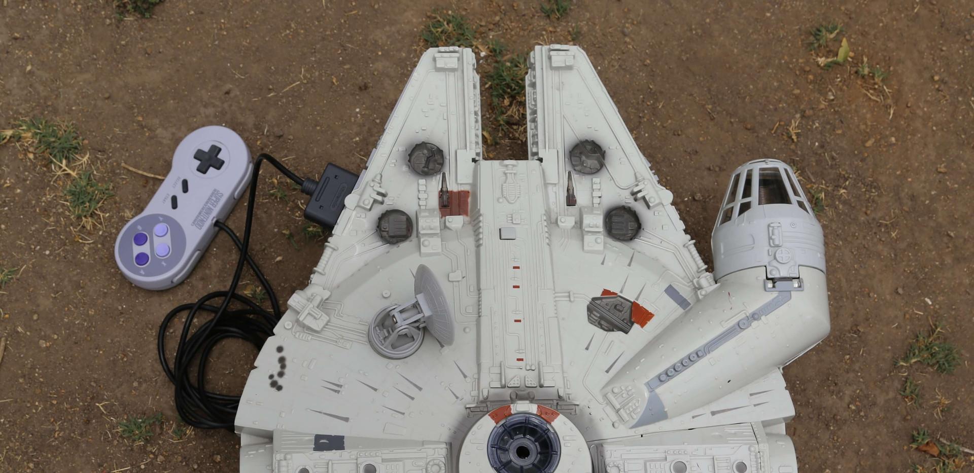 Millenium Falcon SNES - 3.JPG