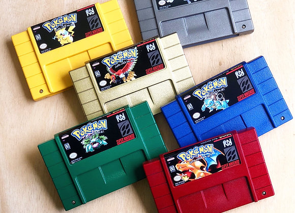 Super Nintendo Pokémon Games