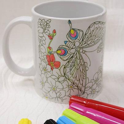 Coloring mug