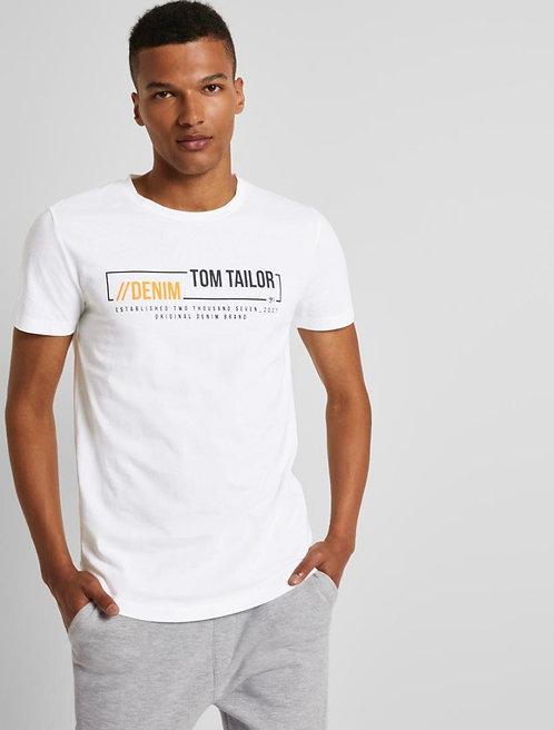 T-shirt - Tom Tailor - L1021279028