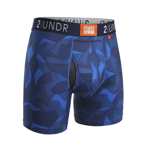 "Boxer - 2UNDR 6"" - Power shift Blue Camo"