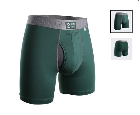 "Boxer - 2UNDR 6"" - Power Shift Dark Green"