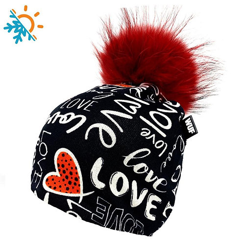 Tuque - Wuf shop - Love me black
