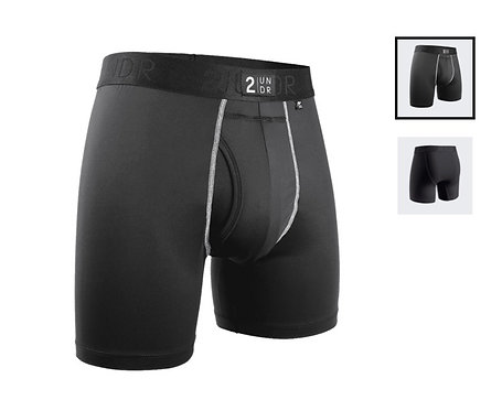 "Boxer - 2UNDR 6"" - Power Shift Black"
