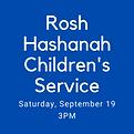 Rosh Hashanah Children's Service.png