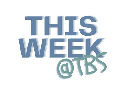 This Week - 12/22