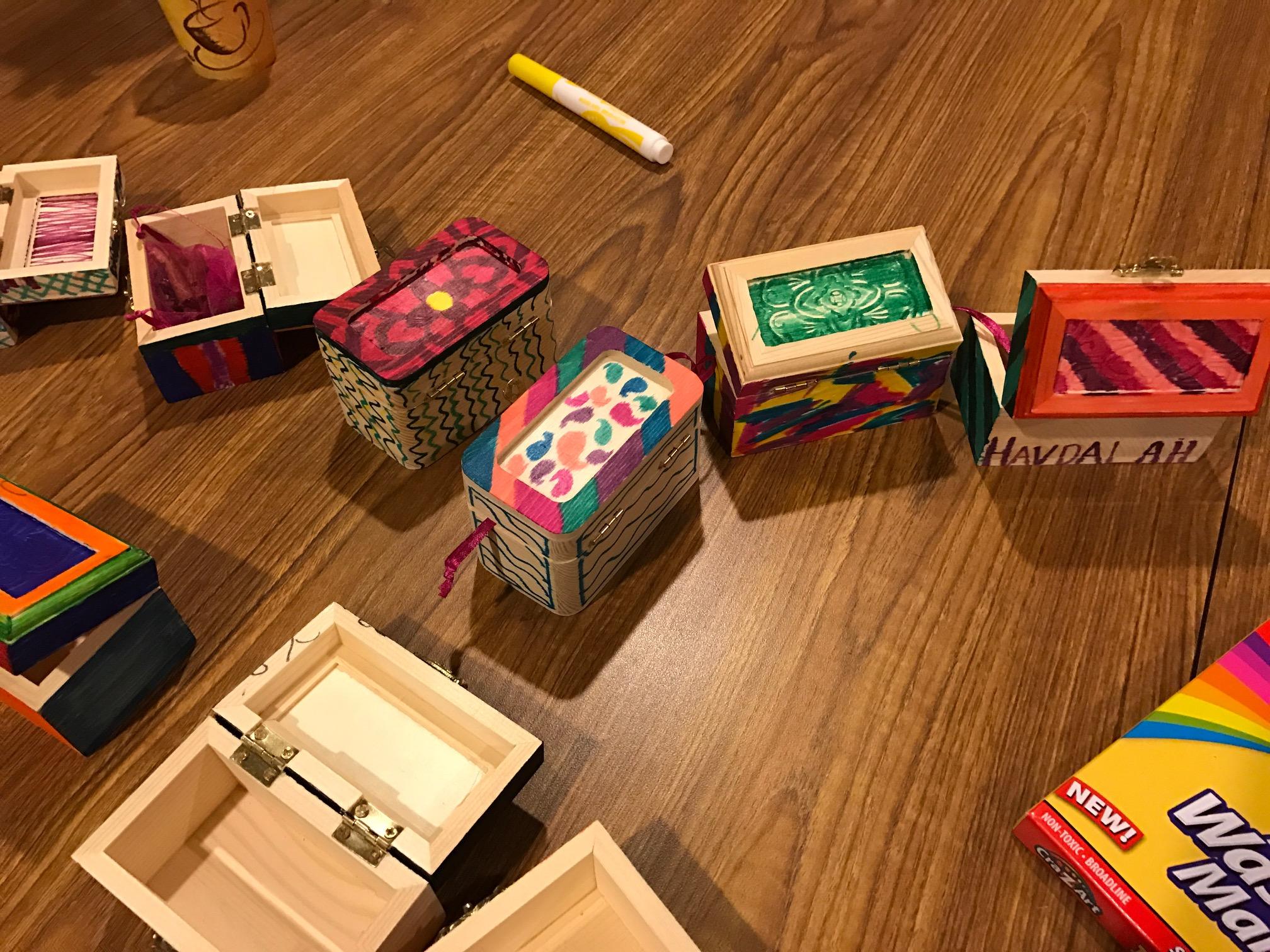 Havdalah Boxes