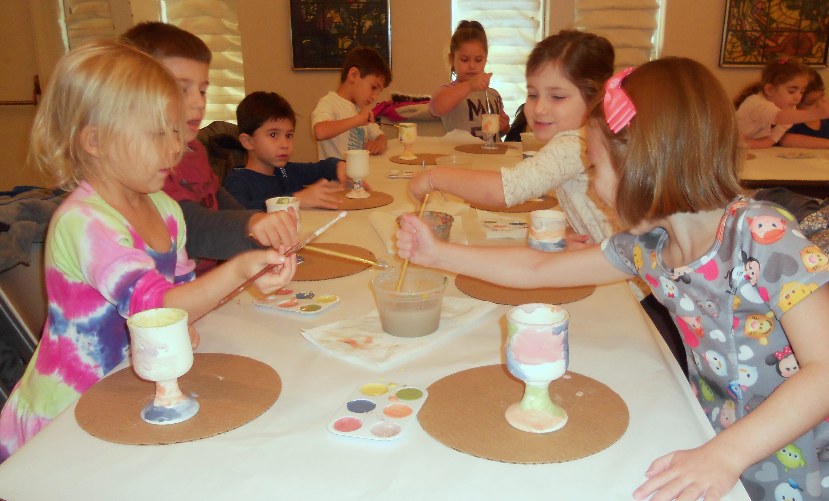 Making Kiddush Cups
