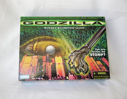 Godzilla 1998 Stomp Game - Parker Brothers