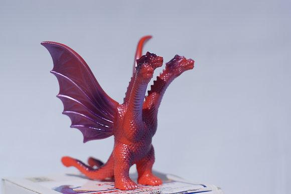 Marusan Z-Sofvi Godzilla Store Exclusive King Ghidorah Red & Purple
