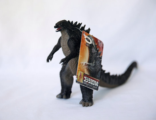 Bandai Godzilla 2014 - With Tag