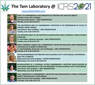 The Tam Laboratory @ ICRS2021 Meeting