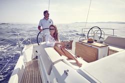 440 cockpit sailing