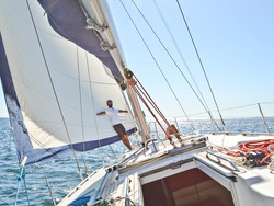Sailing in Portugal