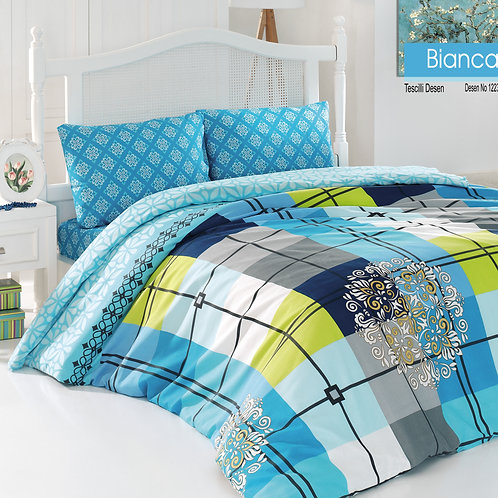 Magenta Home Duvet Cover Set  140x200 Cm + 50x70 Cm