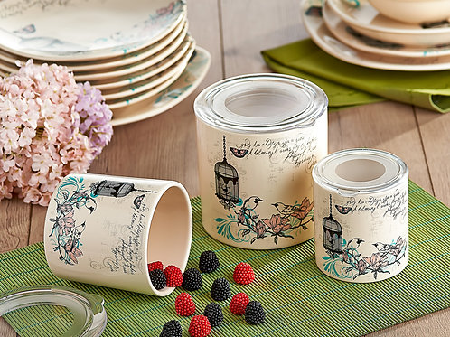 3 Pcs Storage Container Set