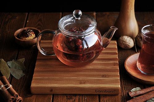 Petunia Tea Pot With Strainer 500 ml