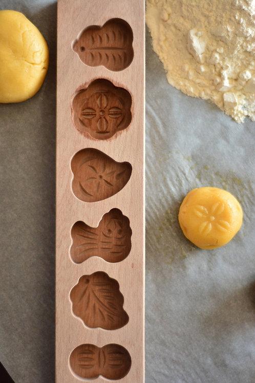 Bambum Patty - 6 Comp. Cookie MoldB0029
