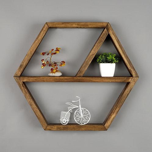 Dekorjinal Solid Wooden Shelf