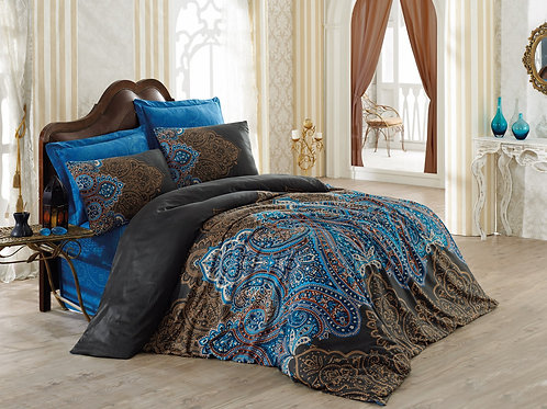 Clasy Cotton Duvet Sets - Diba Brown