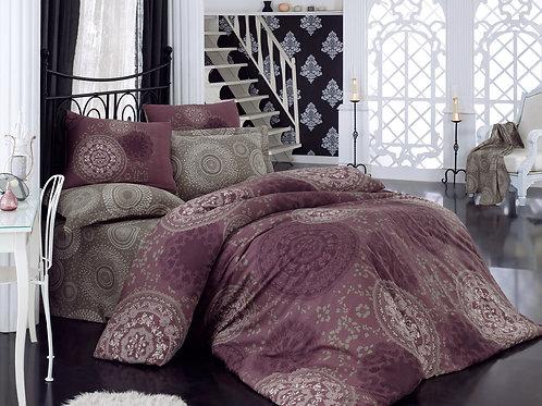 Clasy Cotton Duvet Sets - Sema Purple